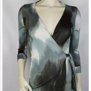 Diane von Furstenberg DVF Julian Wrap Dress